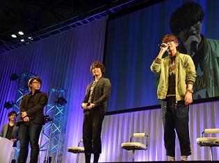 村瀬歩さん、佐藤拓也さん、花江夏樹さんが出演! AJ2016『D.Gray-man HALLOW』ステージレポ
