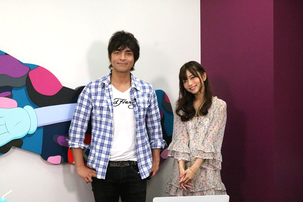 立花理香さん、『薄桜鬼』のイケメン隊士たちを観て大はしゃぎ