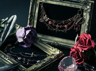 【ローゼンメイデン × Aerl*les bijoux】真紅・水銀燈・翠星石・蒼星石をイメージした豪華な4wayアクセサリーが登場!
