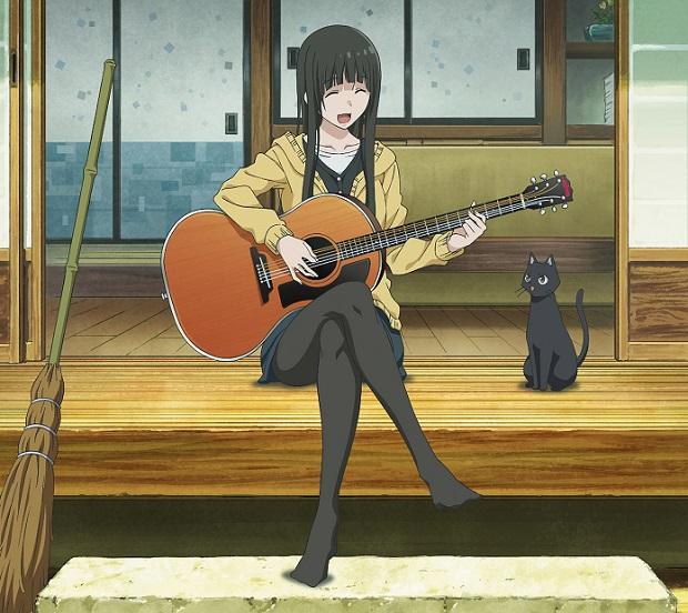 『ふらいんぐうぃっち』OPテーマのアニメ盤CDジャケ写が公開!
