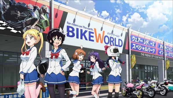 TVアニメ『ばくおん!』よりタイアップ企画などの最新情報が公開