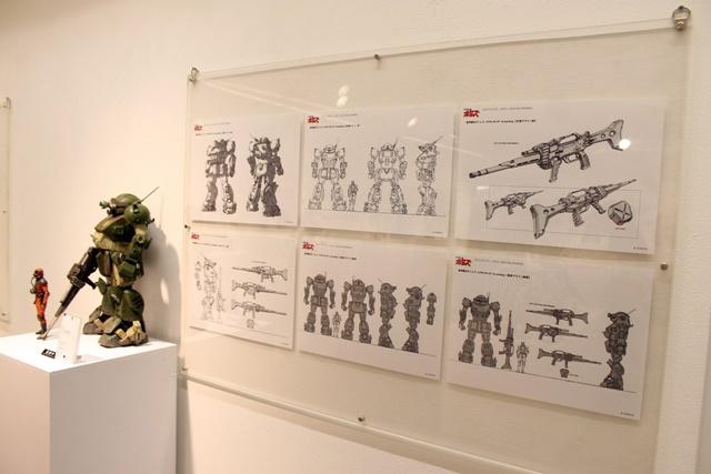 ▲一部展示物では、超貴重なデザイン画も見ることができますよ。