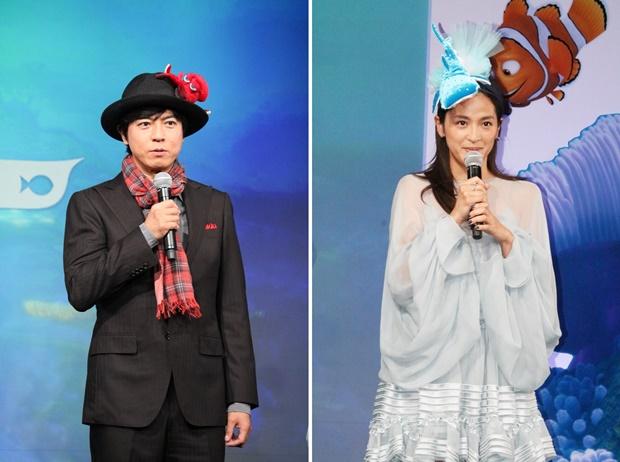 ▲上川隆也さん(写真左)、中村アン(写真右)