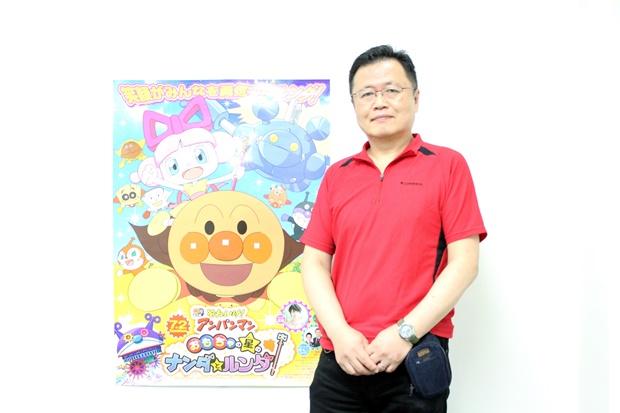 ▲劇場版『それいけ!アンパンマン おもちゃの星のナンダとルンダ』 川越淳監督