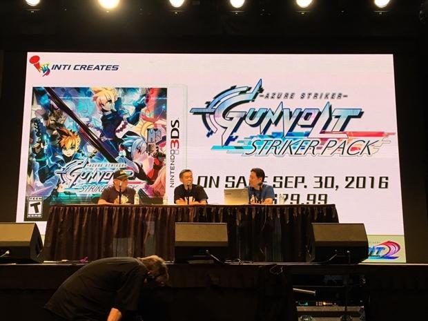 ニンテンドー3DS「蒼き雷霆(アームドブルー) ガンヴォルト」がアニメ化決定! キャラクター設定画やスタッフも公開の画像-1