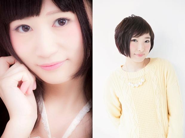 ▲左からキャストの津久井彩文さん、南條愛乃さん