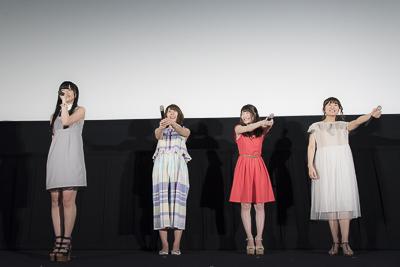 黒雪姫役・三澤紗千香さん、ついに黒の王らしい風格が!? 劇場版『アクセル・ワールド』初日舞台挨拶より公式レポート到着!