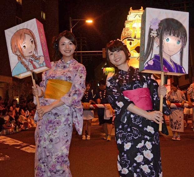 ▲左から三上枝織さん、篠田みなみさん