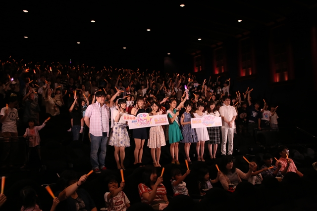 『劇場版アイカツスターズ!』舞台挨拶で声優陣が熱い想いを語る