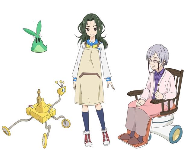TVアニメ『フリップフラッパーズ』第10話「ピュアジッター」より先行場面カット到着-5