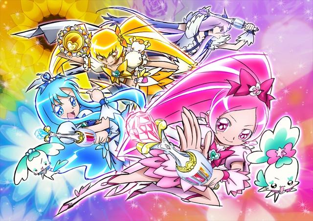 『プリキュア』シリーズ10周年を記念して、プリキュア全37種デカストラップ発売決定!!-6
