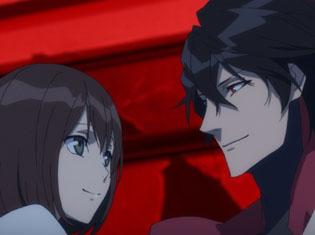 TVアニメ『スカーレッドライダーゼクス』第7話「Quadrophenia」より場面カット到着