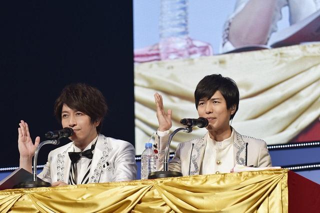 神谷浩史さん&小野大輔さんが魅せる、聴かせる、笑わせる!