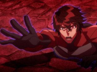 TVアニメ『スカーレッドライダーゼクス』第9話「Away From The Number」より場面カット到着