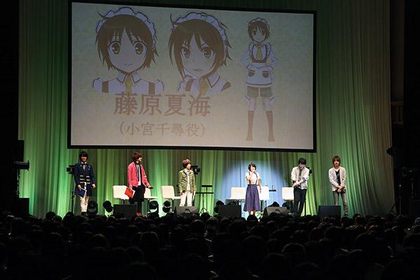 『少年メイド』BD&DVD発売記念イベントに主要声優陣が集結