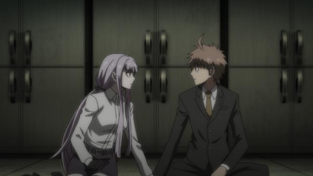 TVアニメ『ダンガンロンパ3 未来編』第9話より場面カット到着