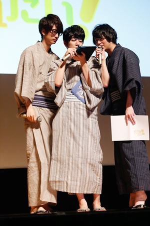 江口拓也さんらメインキャストが浴衣姿で生コメンタリー! 「江口拓也の俺たちだって癒されたい!」DVD発売記念イベント昼の部レポートの画像-7