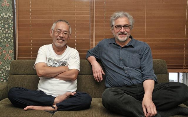 ▲写真左より、スタジオジブリ・鈴木敏夫プロデューサー、マイケル・デュドク・ドゥ・ヴィット監督