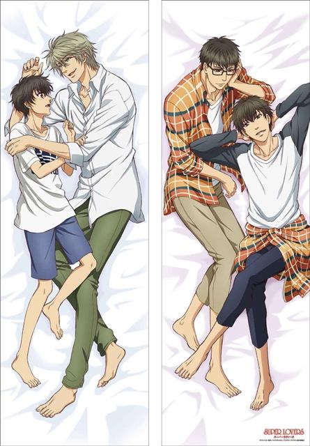 『SUPER LOVERS』より、4兄弟の抱き枕カバーが登場!