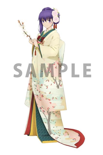 『冴えカノ』『Fate〔UBW〕』のキャラが和服姿になって登場!