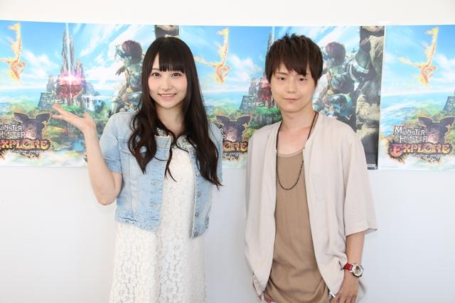 河西健吾さんが巽悠衣子さんに『モンハン』の魅力をプレゼン!