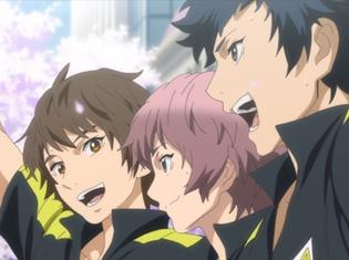 TVアニメ『チア男子!!』第12話「チアダンシ!!」より場面カット到着