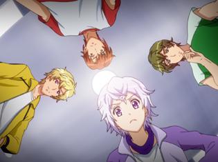 アニメ『ドリフェス!』第3話「2032」より場面カット到着