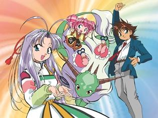 90年代に人気を博したTVアニメ『守護月天!』がファン待望のBlu‐ray【初回生産限定】で登場