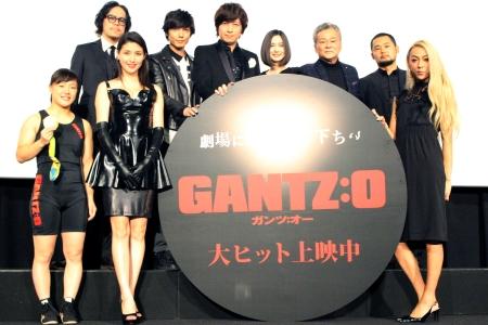 フル3DCG映画『GANTZ:O』初日舞台挨拶