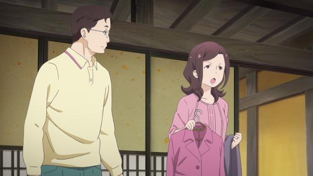 ▲主人公・伊純の父親・俊平と母親・恵理子