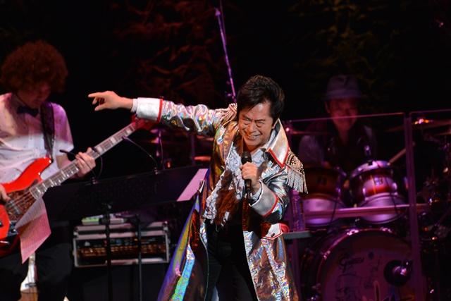 水木一郎さん45周年ライブで、ささきいさおさんと共演!
