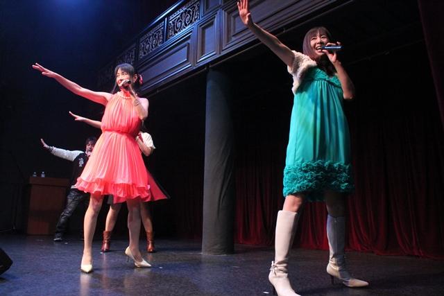 ▲今回は公演ごとにメンバーを変えてのラストソング「檄!帝国華撃団」となるが、とりわけダンスがキレッキレなのがこの回