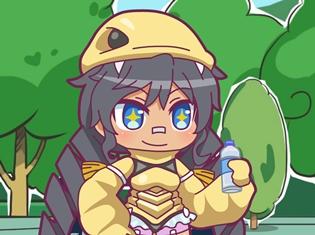 アニメ『怪獣娘~ウルトラ怪獣擬人化計画~』第5話「先輩!怪獣娘!?」より場面カット到着!