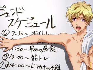 アニメ『ドリフェス!』第4話「3人ユニット結成!!!」より場面カット到着