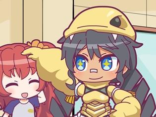 アニメ『怪獣娘~ウルトラ怪獣擬人化計画~』第6話「悩め!怪獣娘!?」より場面カット到着!