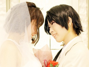 本物のチャペルでコスプレ撮影! キャラクターとなって結婚式を楽しめちゃう!?【AGF2016】