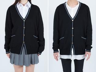 『アイドルマスター シンデレラガールズ』より、渋谷凛のカーディガン&島村卯月の制服が発売決定! カーディガンはメンズフリーも用意