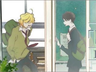 アニメ『同級生』原画展×カフェバー「BarZingaro」とのコラボがスタート! ラテアートを施したコラボドリンクが登場