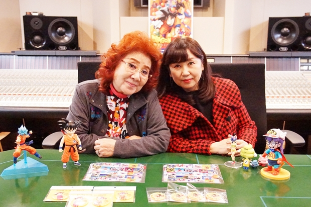 ▲左から野沢雅子さん・小山茉美さん