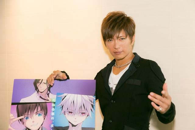 山下大輝さん・逢坂良太さん・小野大輔さん・GACKTさんら『TRICKSTER』声優陣より、最終話アフレココメント到着-4
