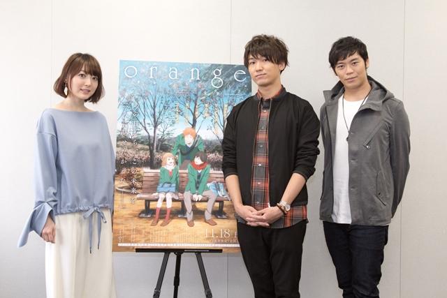 映画『orange』花澤香菜さんのカッコいい一面が垣間見えた?