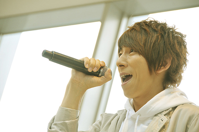 声優・羽多野渉さん歌う『ユーリ!!! on ICE』EDテーマ、ららぽーと柏の葉に響く――の画像-6