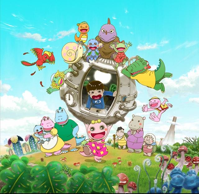 大人気人形劇『がんこちゃん』がテレビアニメ化! TVアニメ『がん がん がんこちゃん』がBSプレミアムで放送!