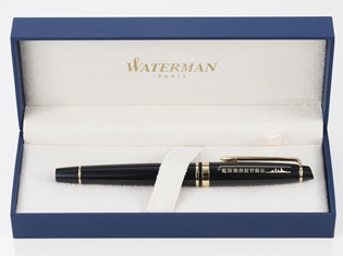 『艦これ』オリジナルデザイン万年筆「艦隊勤務用提督万年筆」が登場! 伝統ある世界有数の万年筆ブランド「WATERMAN」とコラボ