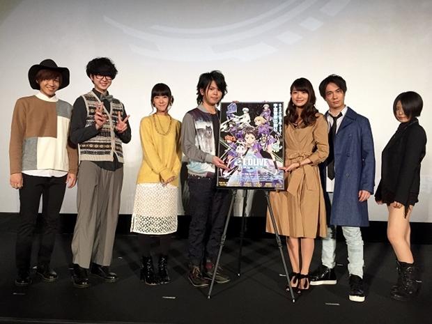 村瀬歩さんら声優登壇の『エルドライブ』先行上映会レポ到着