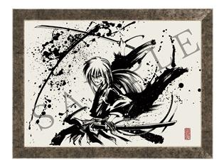 『るろうに剣心』より、緋村剣心、志々雄真実、斎藤一の墨絵コレクションがANIPLEX+限定で登場!