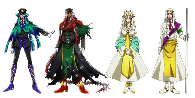 『ナンバカ』2期、黒田崇矢さん・高橋直純さんら追加声優を発表