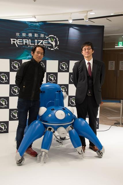 ▲左:karakuri products代表・松村礼央氏 右:プロダクション・アイジー 執行役員 郡司幹雄氏