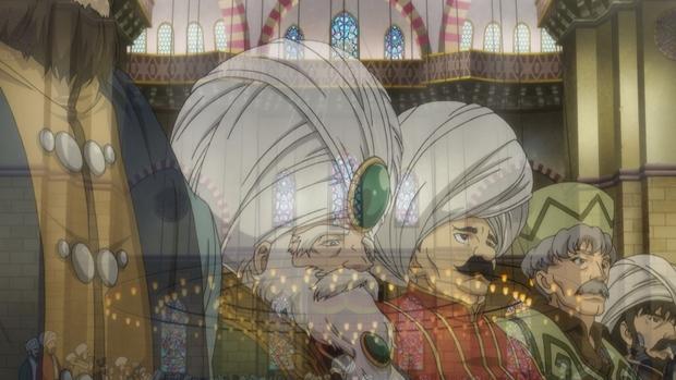 TVアニメ『将国のアルタイル』第20話より先行場面カットが到着! 帝国軍とは戦わず、逃げ切る策を選んだカリルだったが……-6