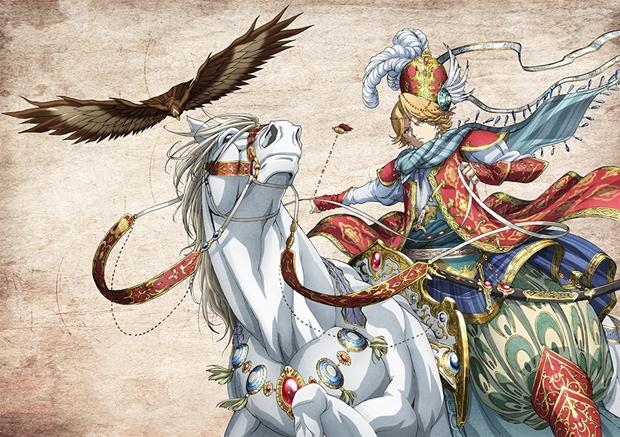 TVアニメ『将国のアルタイル』第20話より先行場面カットが到着! 帝国軍とは戦わず、逃げ切る策を選んだカリルだったが……-1